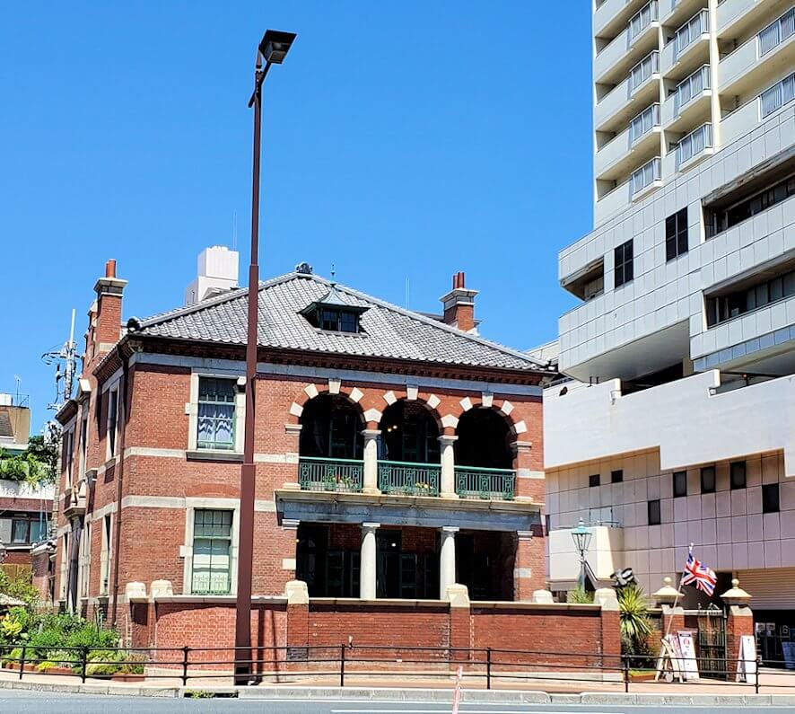 下関の唐戸市場周辺にある、旧イギリス大使館の建物