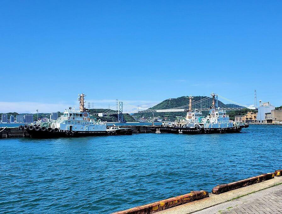 門司港から見る、海の景色