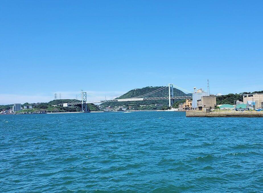 門司港から見る、海の景色-1