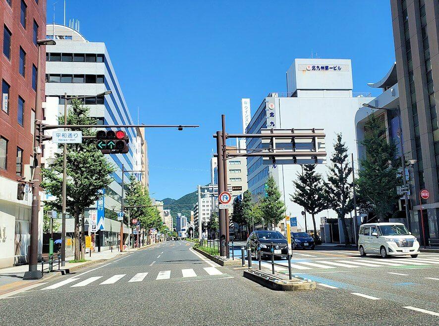 小倉市内の景色