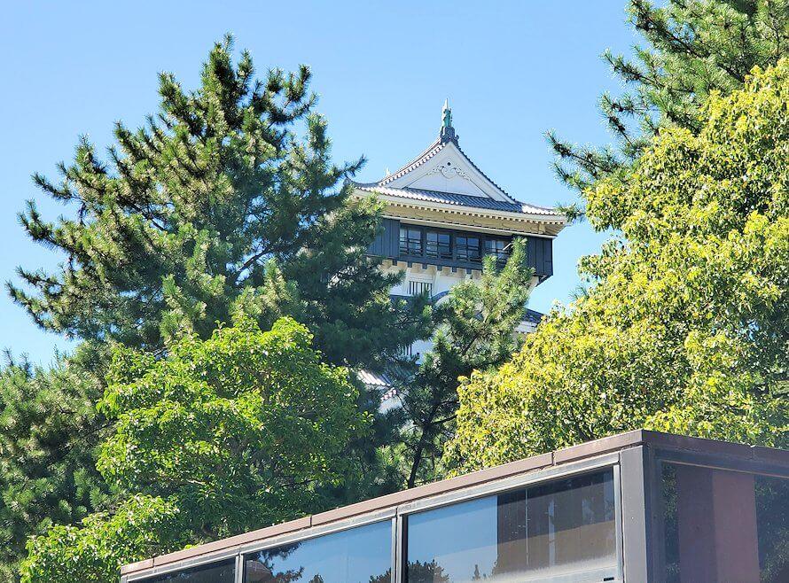 JR小倉駅周辺にある小倉城へと進む-1
