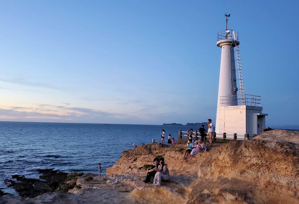 遠見ヶ鼻にある灯台