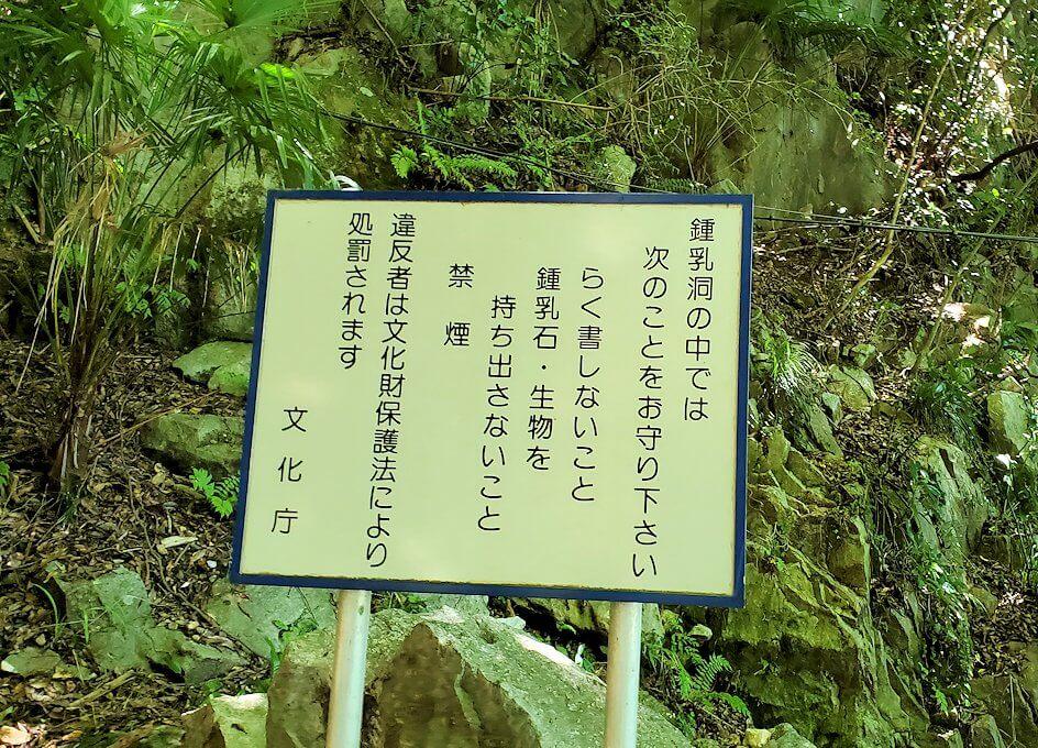 千仏鍾乳洞の入口-2