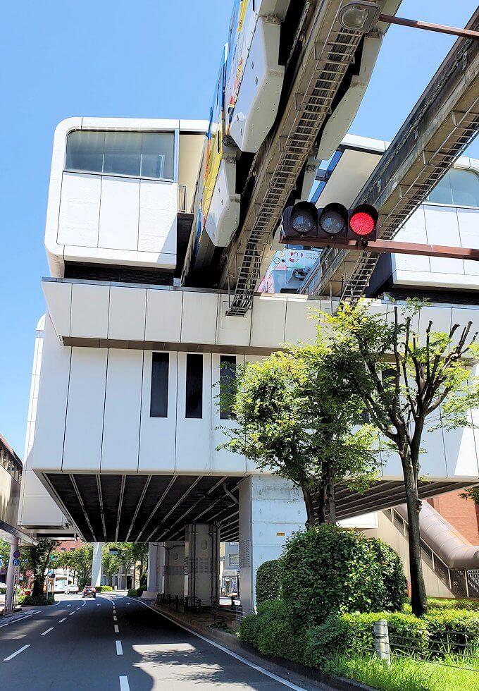 小倉の旦過市場周辺にあるモノレール駅