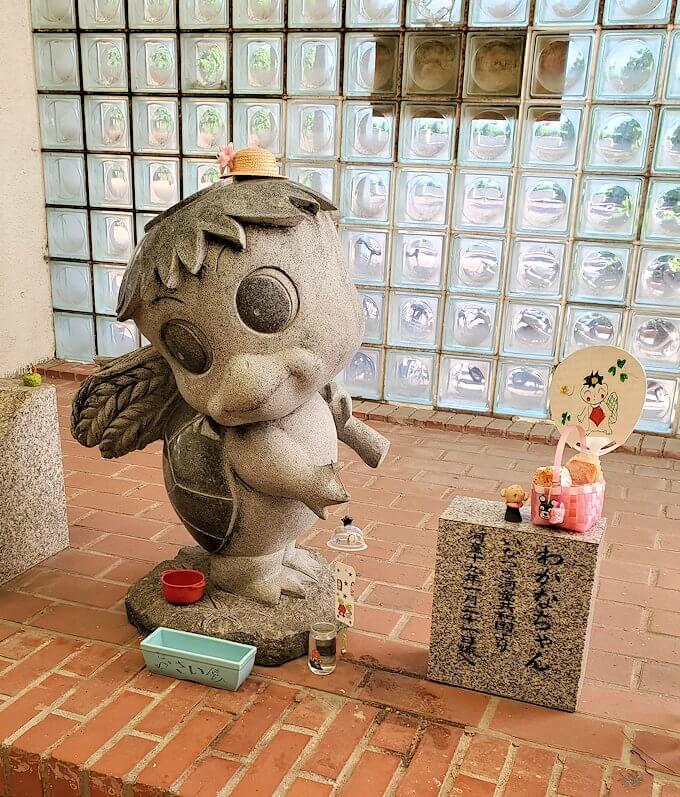 北九州市若松区のマスコット「わかっぱ」