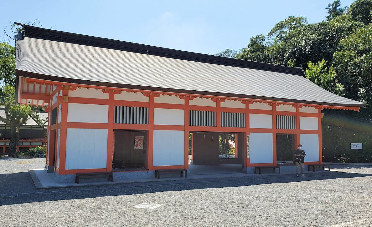 宇佐神宮の境内-3