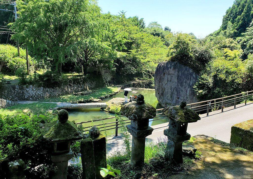 身濯神社からの景色