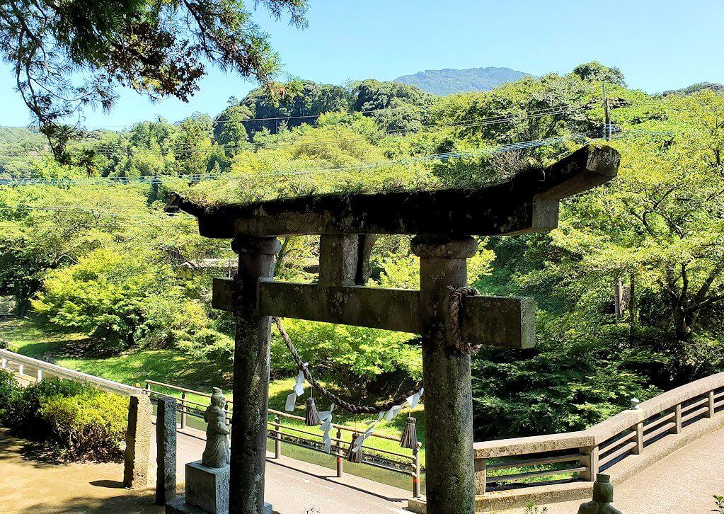 身濯神社からの景色-1