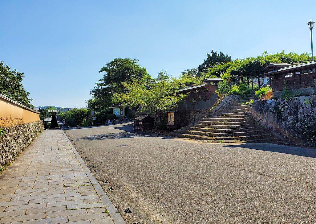 杵築市武家屋敷の北台の景色