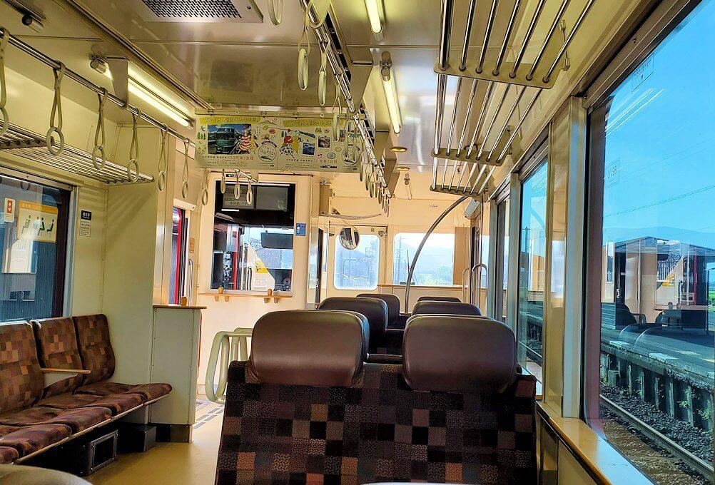 JR豊後森駅から西に進む