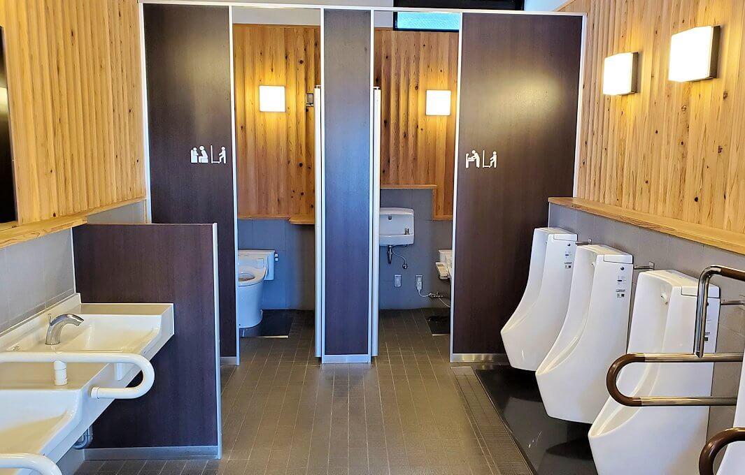 久大本線の日田駅の綺麗なトイレ
