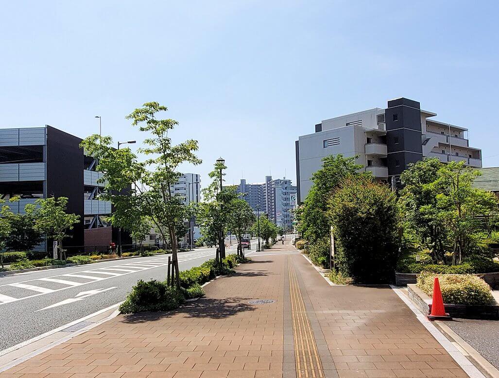 久留米駅前の景色