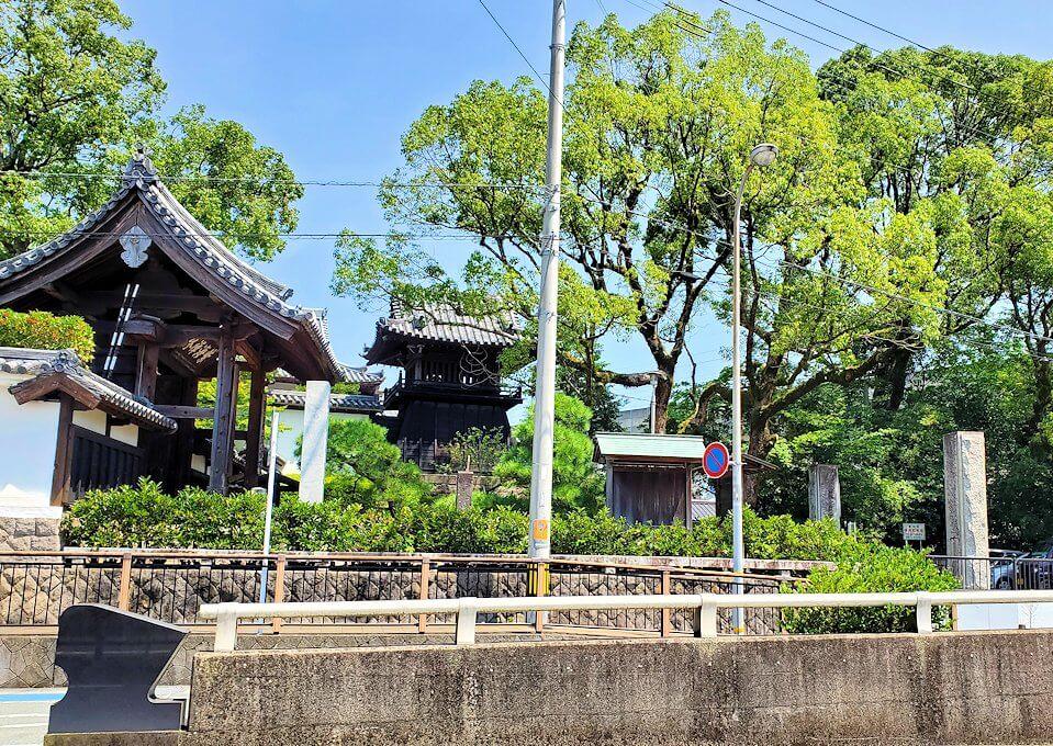 久留米駅周辺の寺