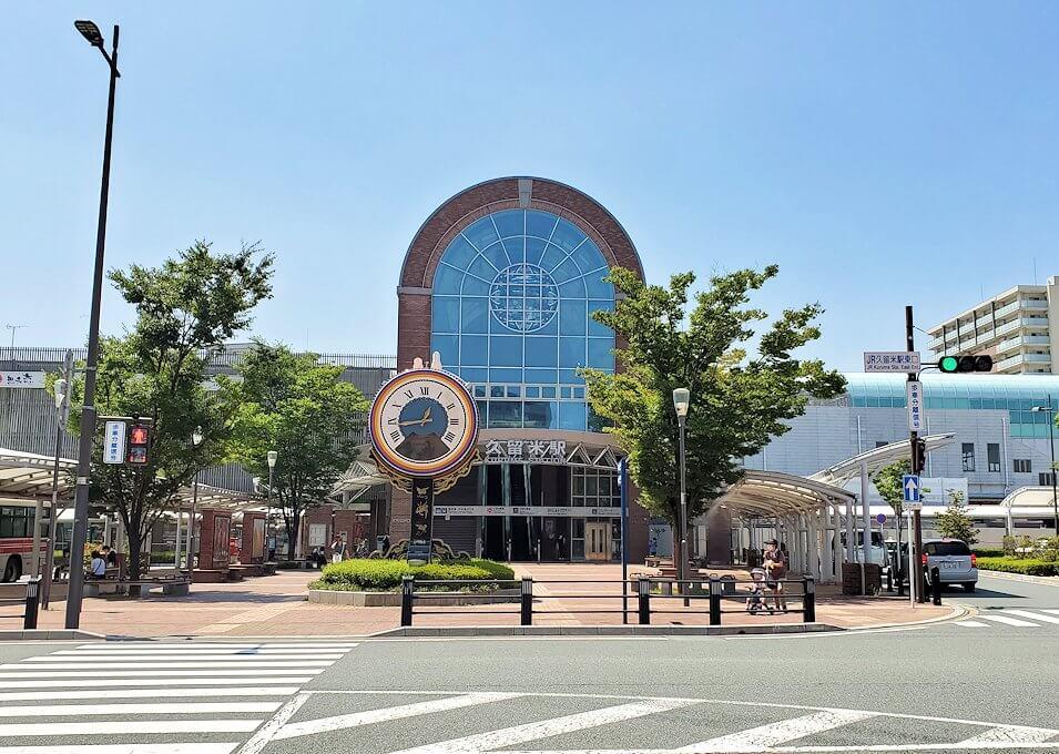 久留米駅の正面からの景観