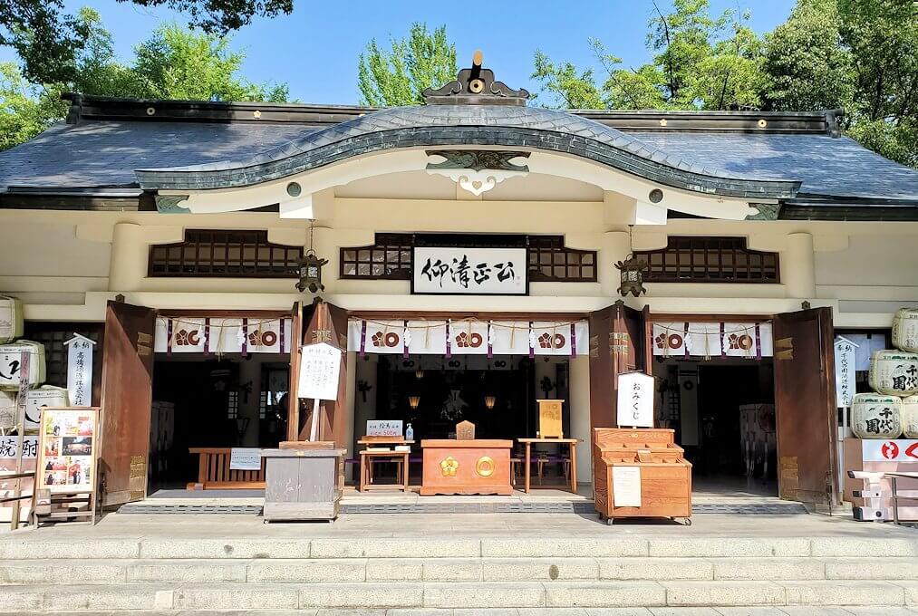 加藤神社の本堂