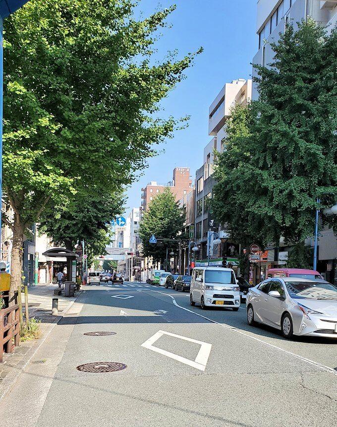 熊本市内の繁華街である銀座通りの景色