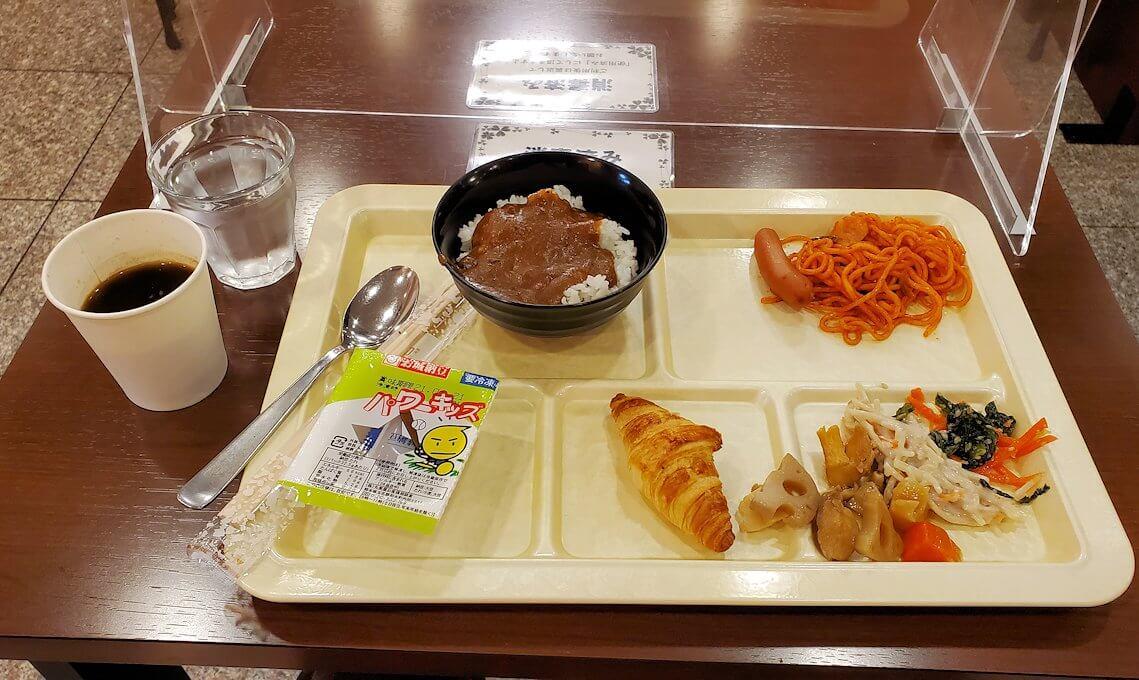 エクストールイン熊本銀座での朝食
