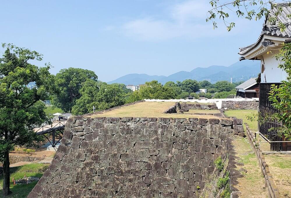 熊本城本丸の景色