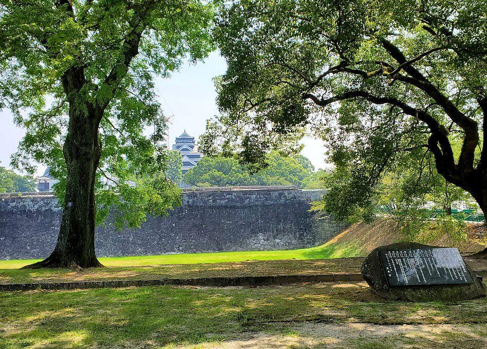 熊本城の二ノ丸公園の景色-1