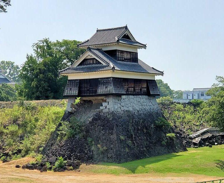 熊本城の北西部分に建つ戌亥櫓