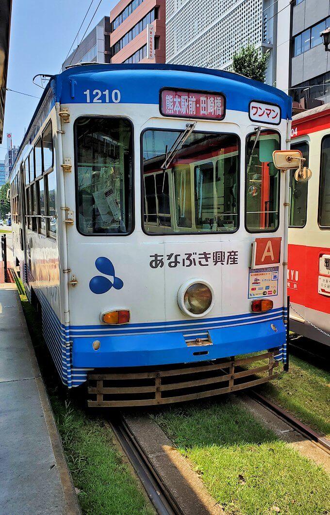 熊本市電の車両