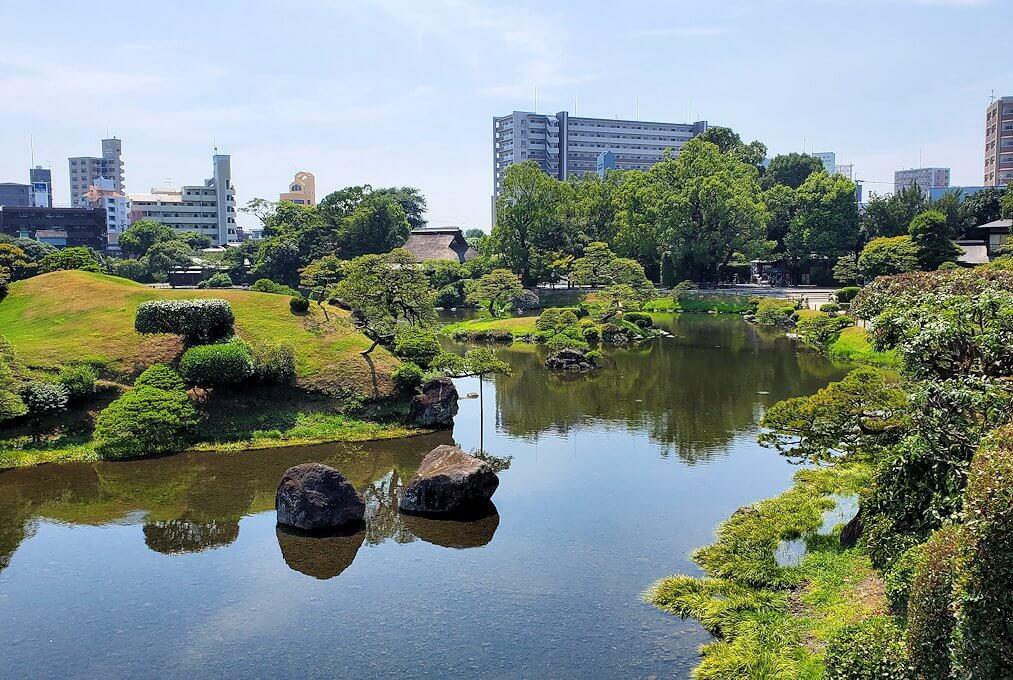 水前寺成趣園の景観