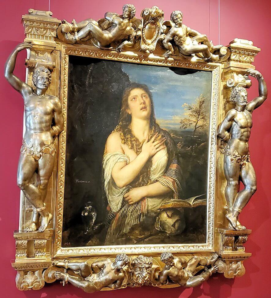 『懺悔するマグダラのマリア』の絵
