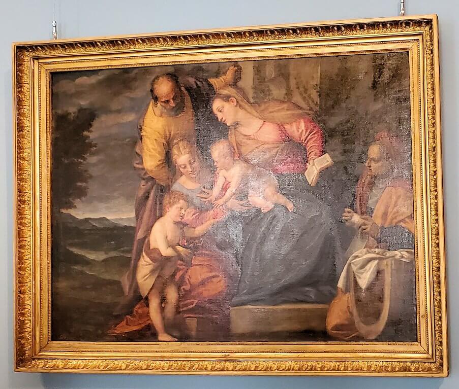 ヴェロネーゼの絵画