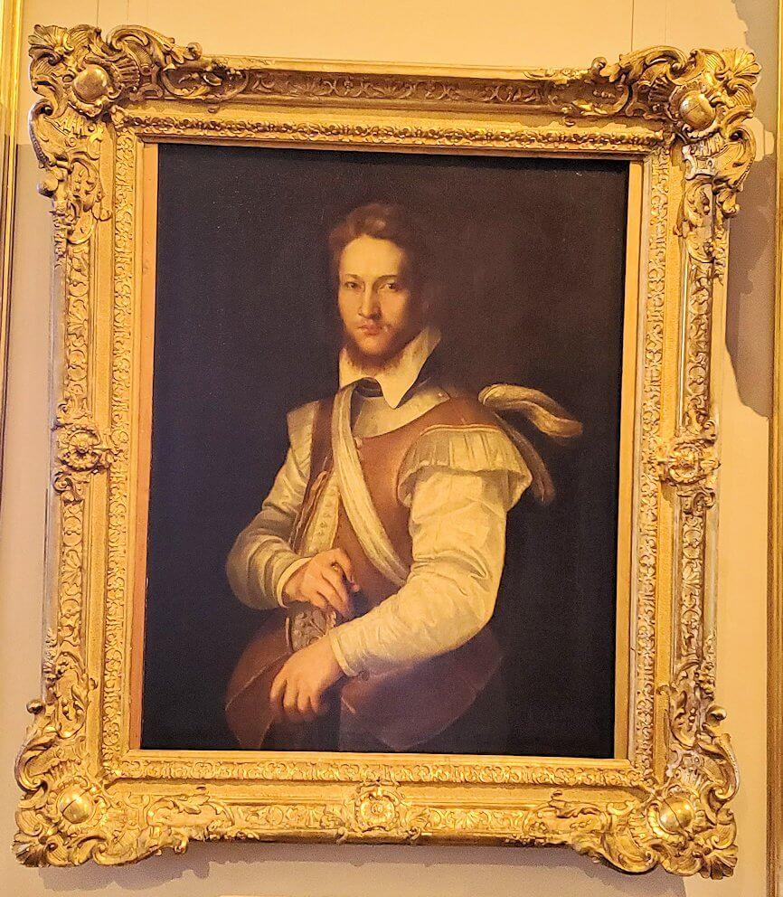 『男の肖像』 (Portrait of a Man) by フェデリコ・バロッチの絵画