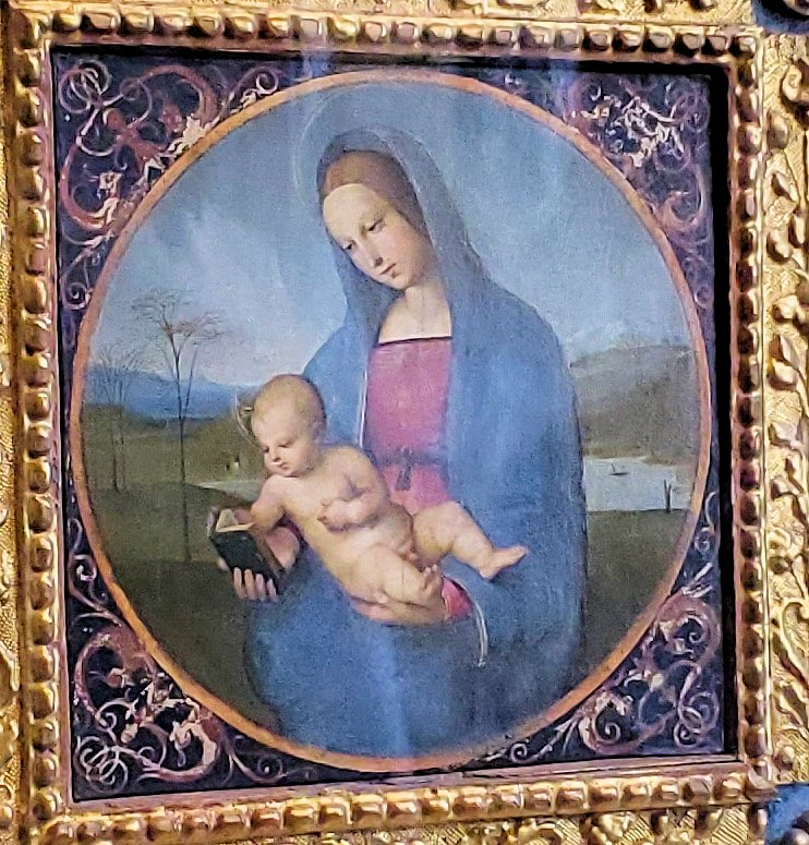 『コネスタービレの聖母 by ラファエロ・サンティ