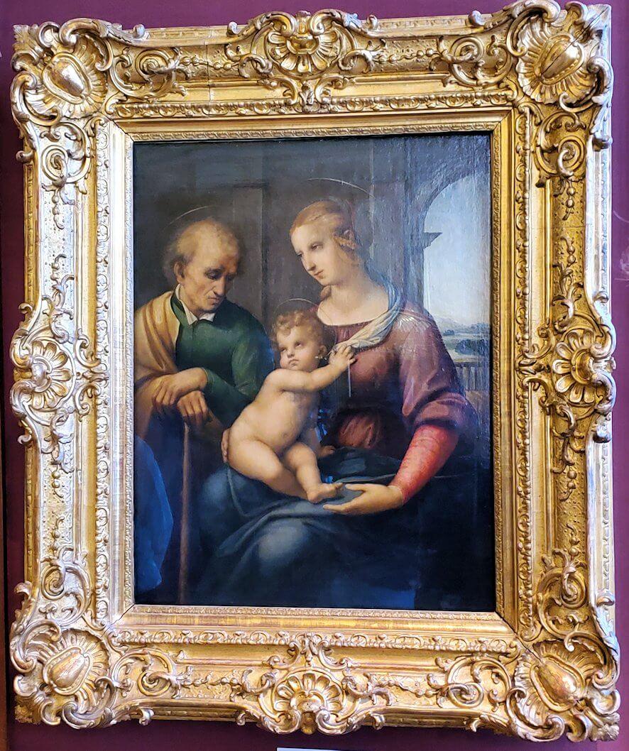 『聖家族』(Madonna with Beardless St. Joseph) by ラファエロ・サンティ(Raffaello Santi)