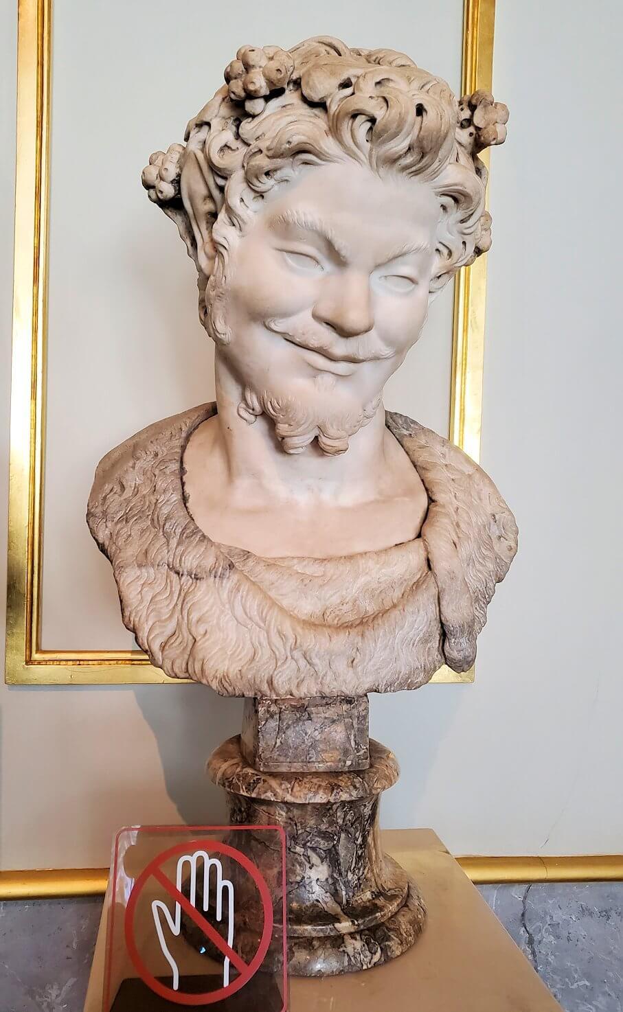 『ファウヌス』の像