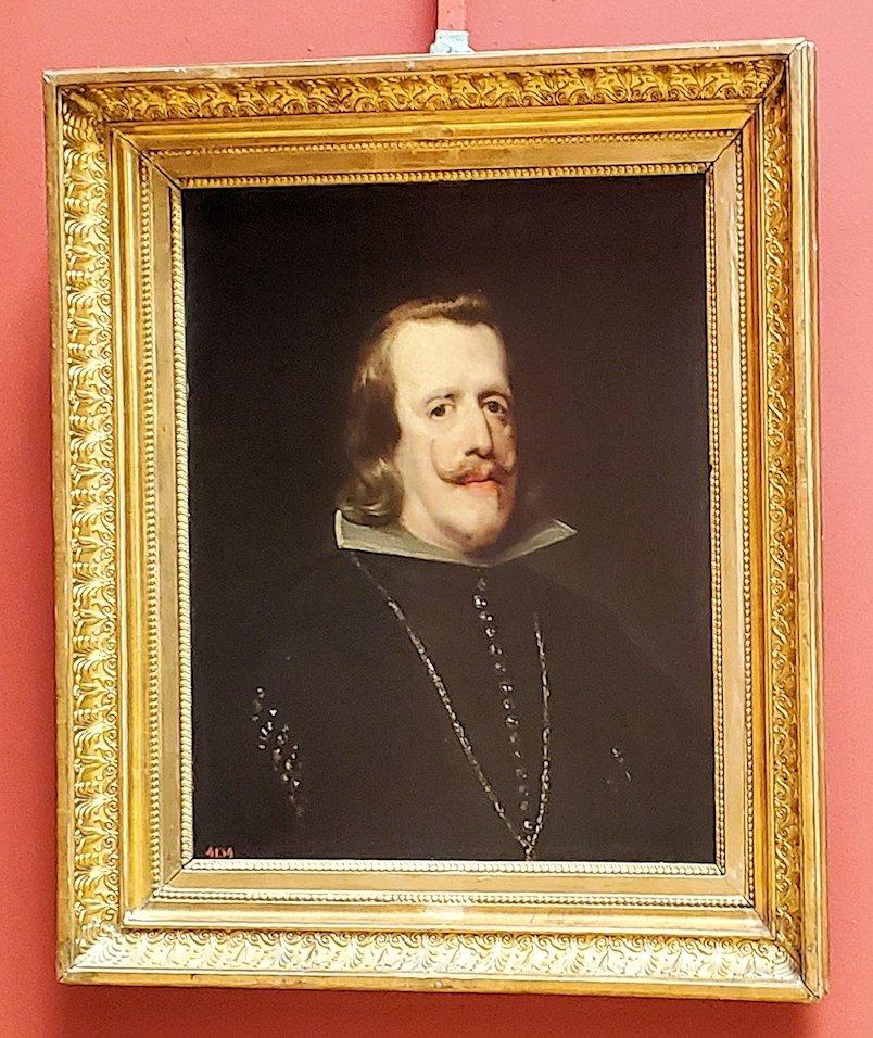『フェリペ4世(老)の肖像』 by ディエゴ・ベラスケス
