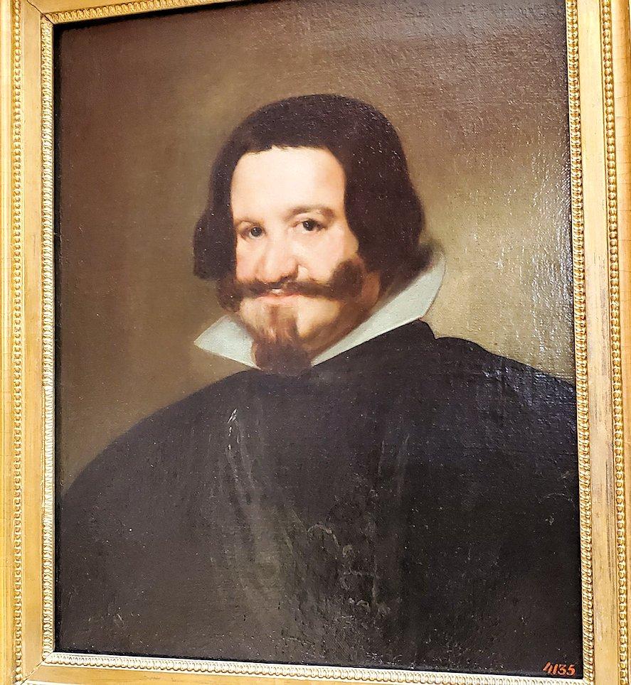 『オリバーレスの肖像』by ディエゴ・ベラスケス