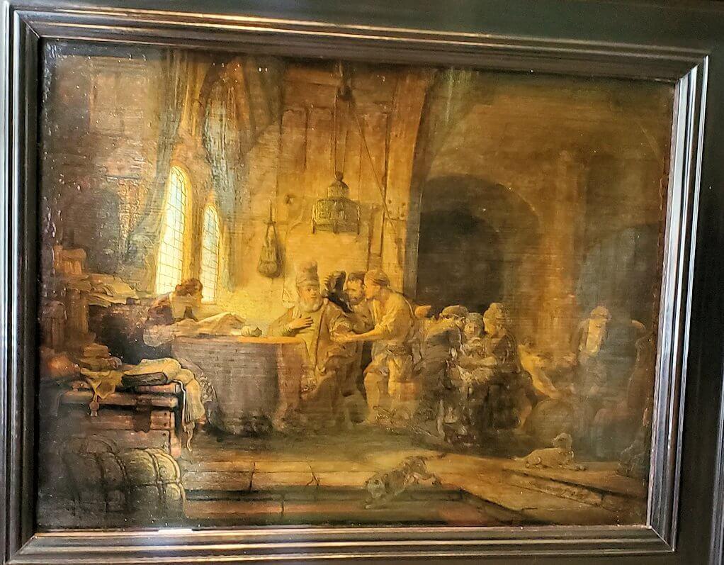 『ぶどう園の労働者の例え話』 (Parable of the labourers in the vineyard) by レンブラント・ファン・レイン