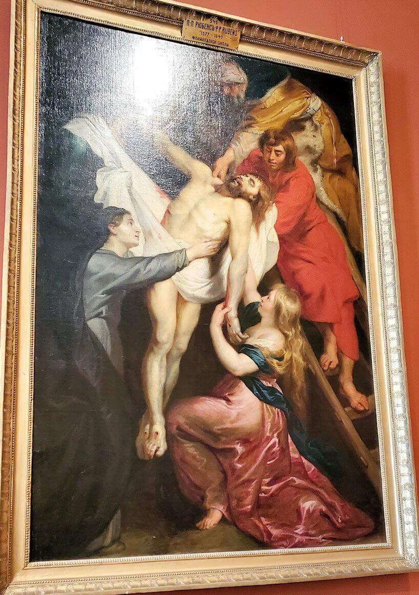 『十字架降架』 (Descent from the Cross) by ピーテル・パウル・ルーベンス