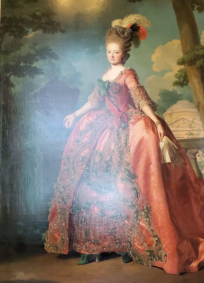 『マリア・フョードロヴナ皇后』 (Portrait of Grand Duchess Maria Feodorovna(Sophie Dorothea of Württemberg)) by アレクサンドル・ロスラン