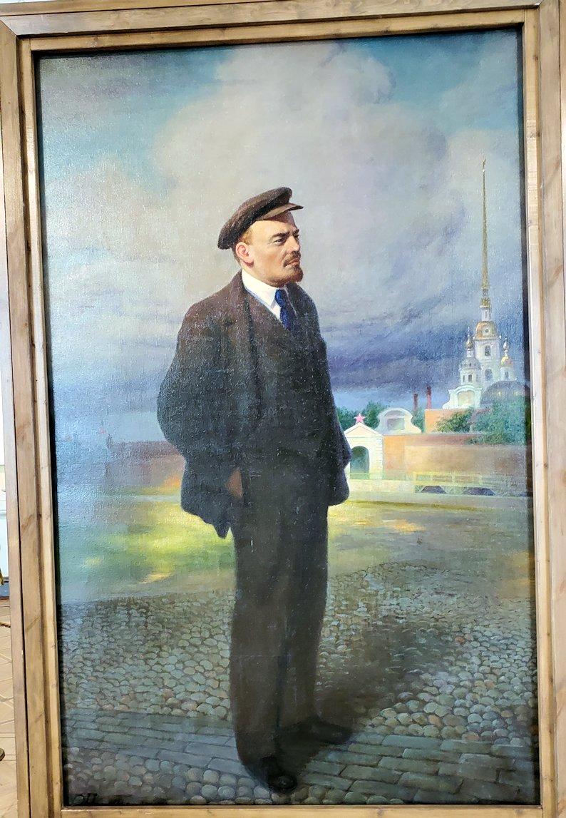 『レーニンの肖像』 by ウラジスラフ・イズマイロヴィチ
