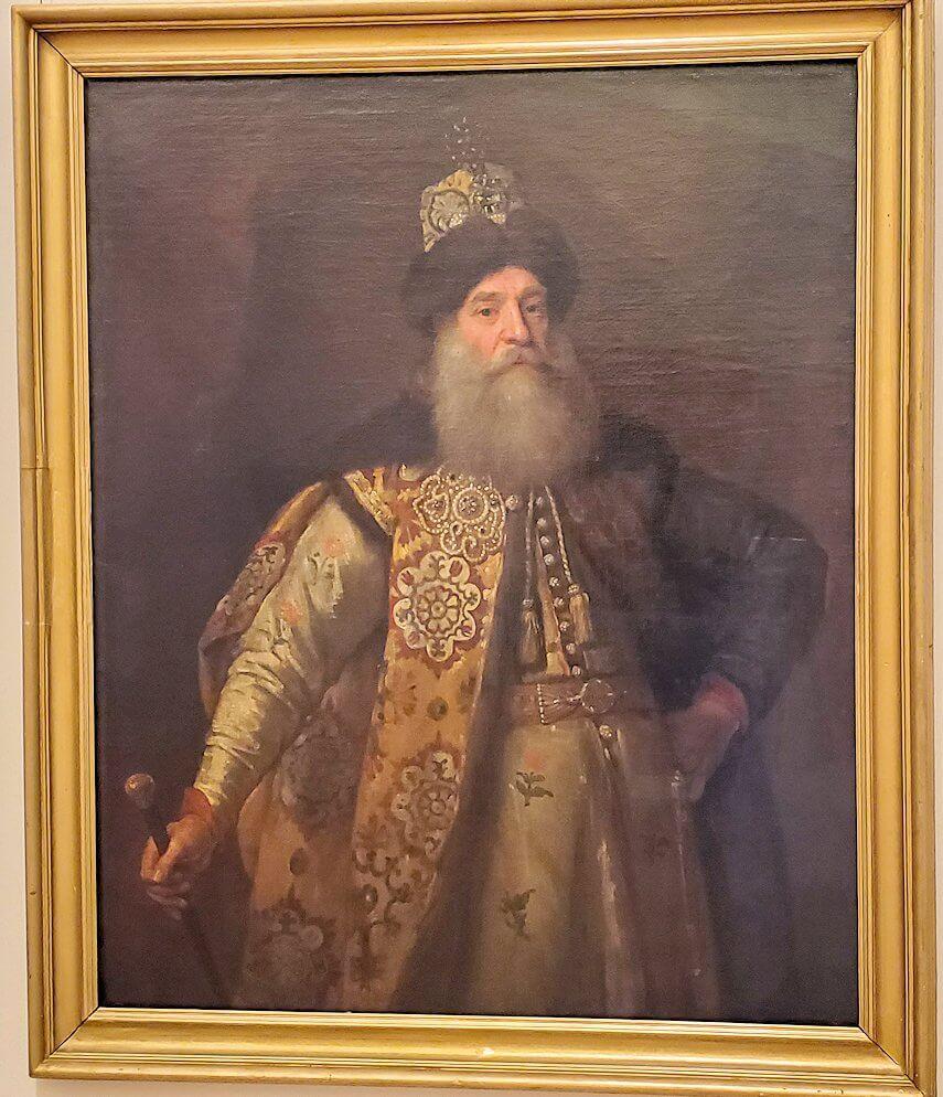 『ピョートル・ポチョムキンの肖像』 (Portrait of Piotr Potyomkin) by ゴドフリー・ネラー
