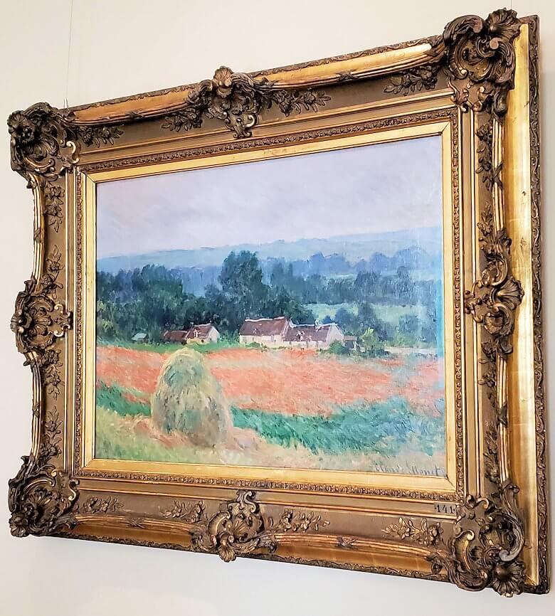 『ジヴェルニーの干草』 (Haystack at Giverny) by クロード・モネ