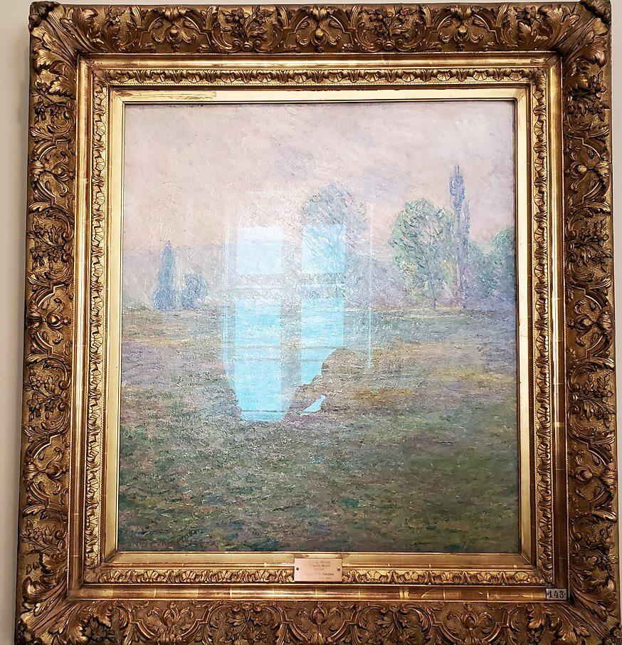 『ジヴェルニーの牧草地』 (Meadows at Giverny) by クロード・モネ