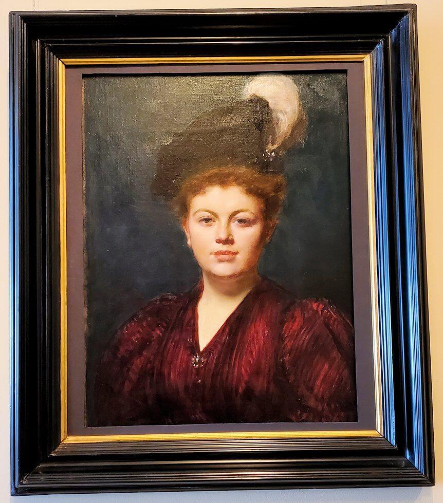 エルミタージュ美術館に飾られている、婦人の肖像画