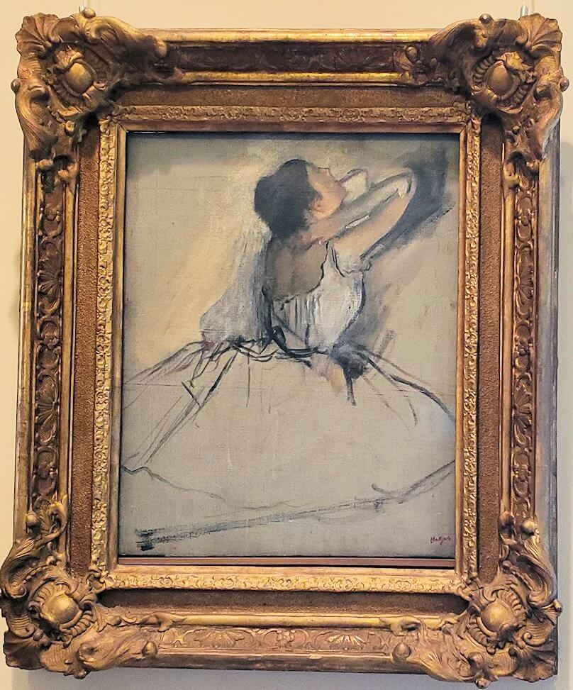 『踊り子』 (The Dancer Ca.1874) by エドガー・ドガ