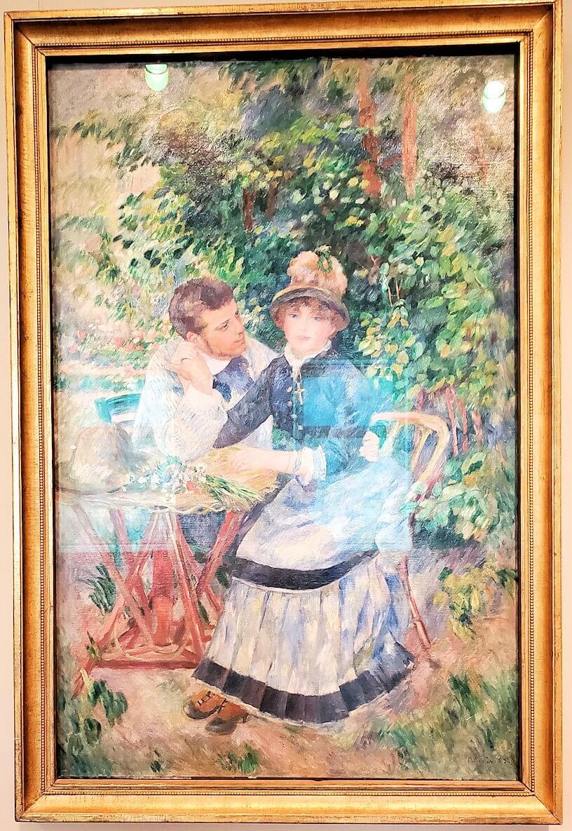 『庭園にて』 (In the Garden) by ピエール・オーギュスト・ルノワール