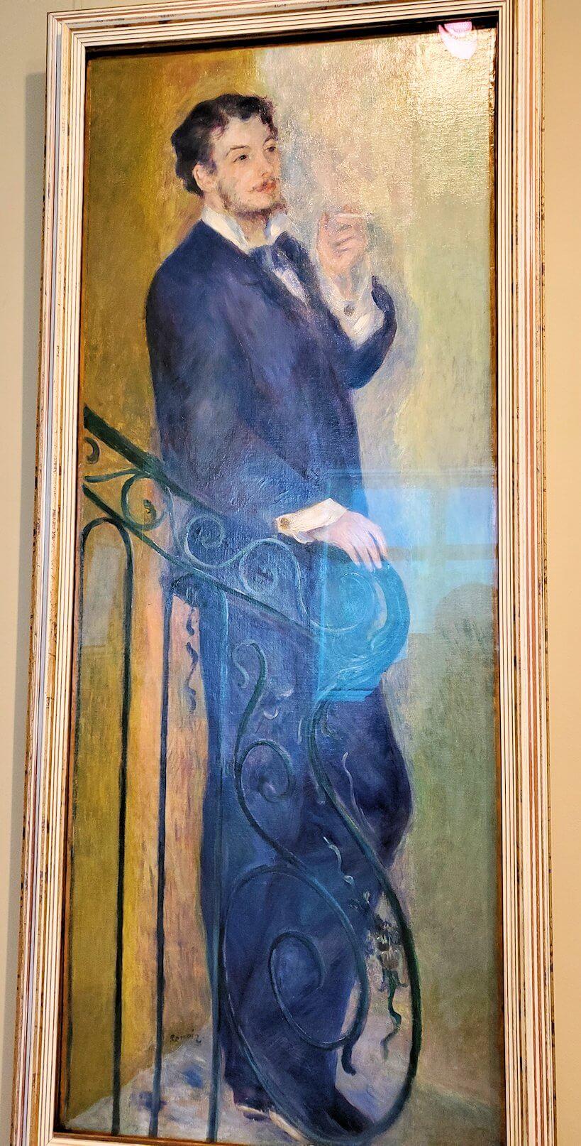 『階段の男』 (Man on a Stair) by ピエール・オーギュスト・ルノワール