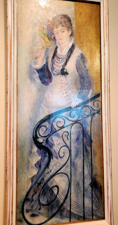 『階段の女性』 (Woman on a Stair) by ピエール・オーギュスト・ルノワール