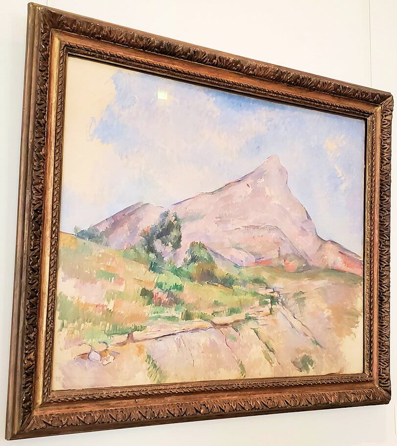 『サント・ヴィクトワール山』 (Mount Sainte-Victoire) by ポール・セザンヌ