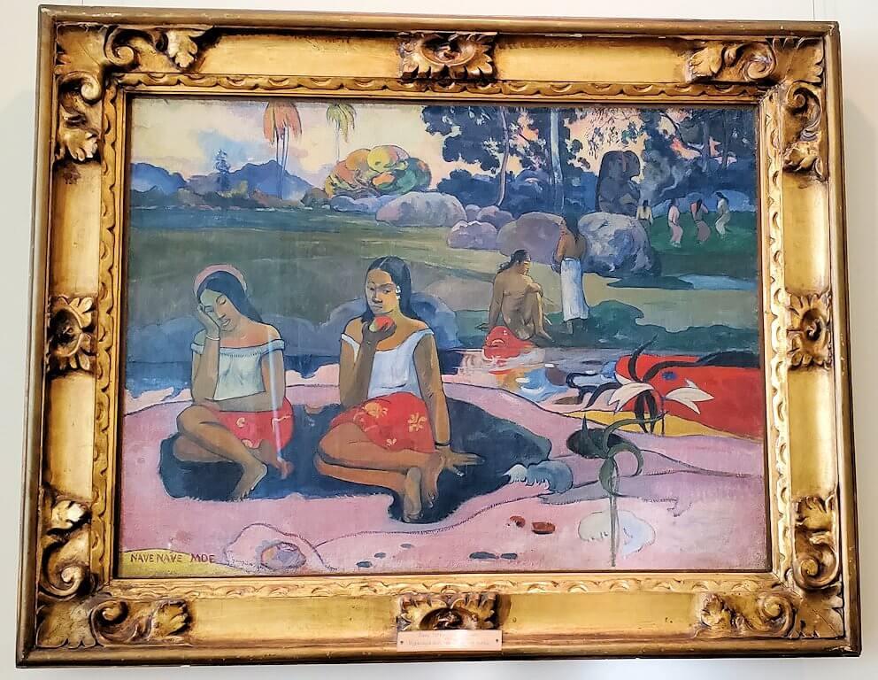 『ナヴェ・ナヴェ・モエ(甘い夢)』 (Sacred Spring: Sweet Dreams (Nave nave moe)) by ポール・ゴーギャン
