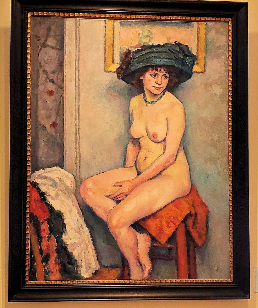 『ヌード』 (Nude) by シャルル・ゲラン