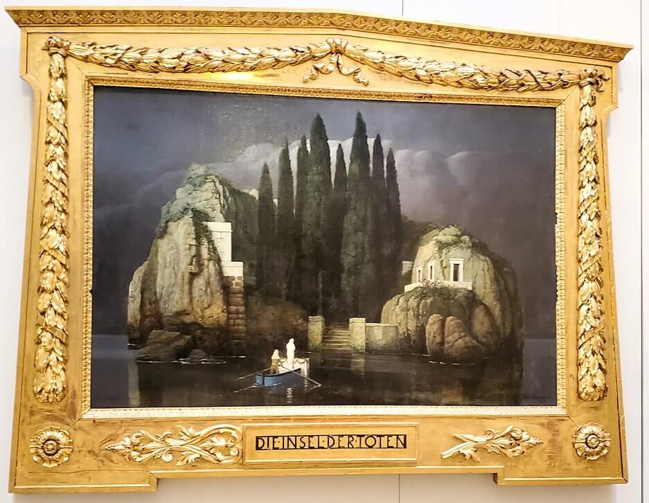 『死者の島』 (Die Insel der Toten) by アーノルド(&カルロ:息子)・ベックリン